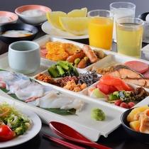 ☆朝食ブッフェの料理一例