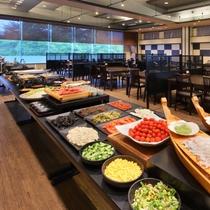 ☆朝食ブッフェの会場一例