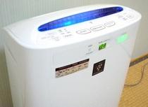 ■プラズマクラスター加湿空気清浄機でお部屋を快適に。
