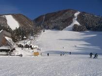 野沢温泉スキー場・日影ゲレンデ