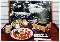 雪庭ぼたん鍋