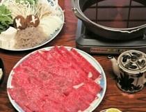 能勢牛のすき焼き