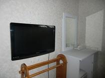 壁付き地デジテレビ