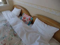 ベッド(幼児まくら使用時)