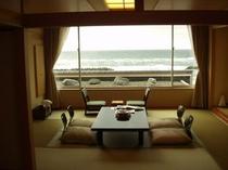 特別客室(展望温泉風呂付)からの眺め