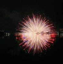 白樺湖夏祭り花火大会