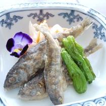 山女魚の唐揚げ南蛮酢漬け