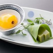 懐石料理 水菓子(一例)