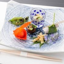 懐石料理 季菜(一例)