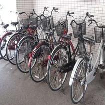 無料レンタル自転車(数に限りがございます)