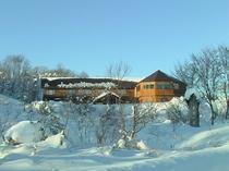 大人の隠れ家的ホテル星の雫 外観冬