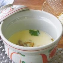 *朝食一例【茶碗蒸し】