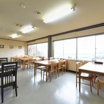 *食事処から眺める風景はお客様に人気