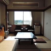 *【お部屋一例】久慈川も望むことができる和室8畳