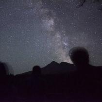 星空観察 人&風景