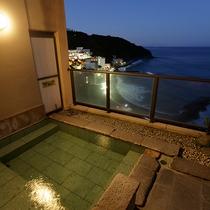 貸切露天風呂は2か所あります。