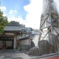熱川は伊豆で1~2を誇る湯量です