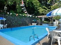 夏のプール