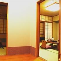 1室で2部屋楽しめる(2)