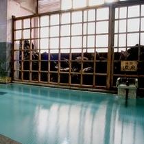 【湯畑源泉側】女性大浴場(新地蔵の湯・湯畑混合泉)