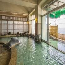 ★岩風呂大浴場(男女入れ替え制)