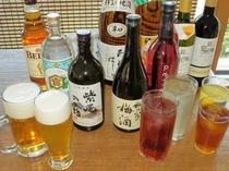 【夕食】生ビール・サワー・日本酒・焼酎などすべて90分飲み放題になります!