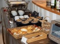 朝食バイキングは洋食のご用意もございます。