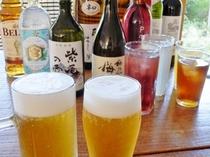 【夕食】90分の飲み放題付!生ビール・日本酒・焼酎・ワイン・ソフトドリンクetc・・種類も豊富♪