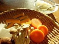 【朝食】朝食の人気メニュー!季節の野菜をせいろ蒸しで♪