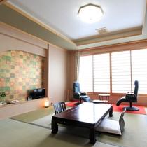*客室一例(松の間)/落ち着いた広い客室でのびのびと安らぎのひと時を押す不越し下さい。