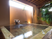 貸切風呂 檜風呂