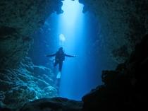 【アクティビティ】神秘的な空間を探検できるボートダイビング