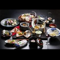 【2014年】ご夕食 *テーマは≪自然が育む「和のおもてなし」~和食が世界無形文化遺産に~≫
