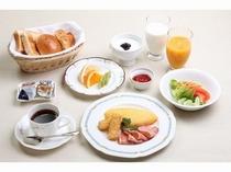 朝食:洋定食イメージ