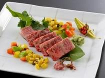 国産黒毛和牛のサーロインステーキ