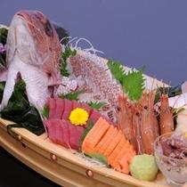【追加注文】刺身の舟盛り