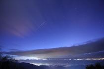 雲海 夜明け前