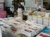 アンプ御用達の魚屋さん