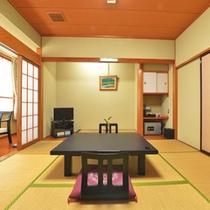 *【和室8畳一例】のんびりと静かな時間をお過ごし下さい。