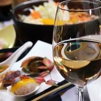 ワインと楽しむ和食