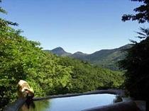 景色の良い石風呂