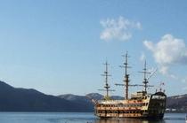ビクトリー号。お手本はイギリスの船なんだそうですが、『一番新しい海賊船』ってここいらではよんでます