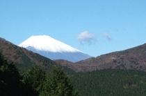 芦ノ湖から眺める『世界遺産の富士山』