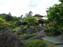『箱根美術館④』美しい日本庭園です。