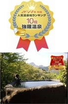 2014年 年間人気温泉地ランキング 【強羅温泉】人気No.1宿に選出されました!