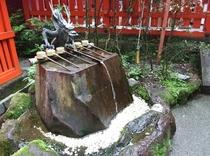『九頭龍神社の龍神水』