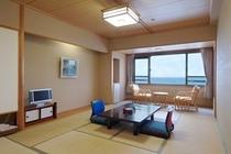 海の見える和室:客室一例