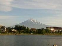 2015.5.21 六角堂から見た富士山
