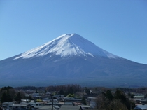 富士山ー冬