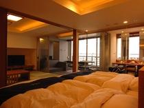 ◎河口湖側◎半露天風呂付特別室(一例)